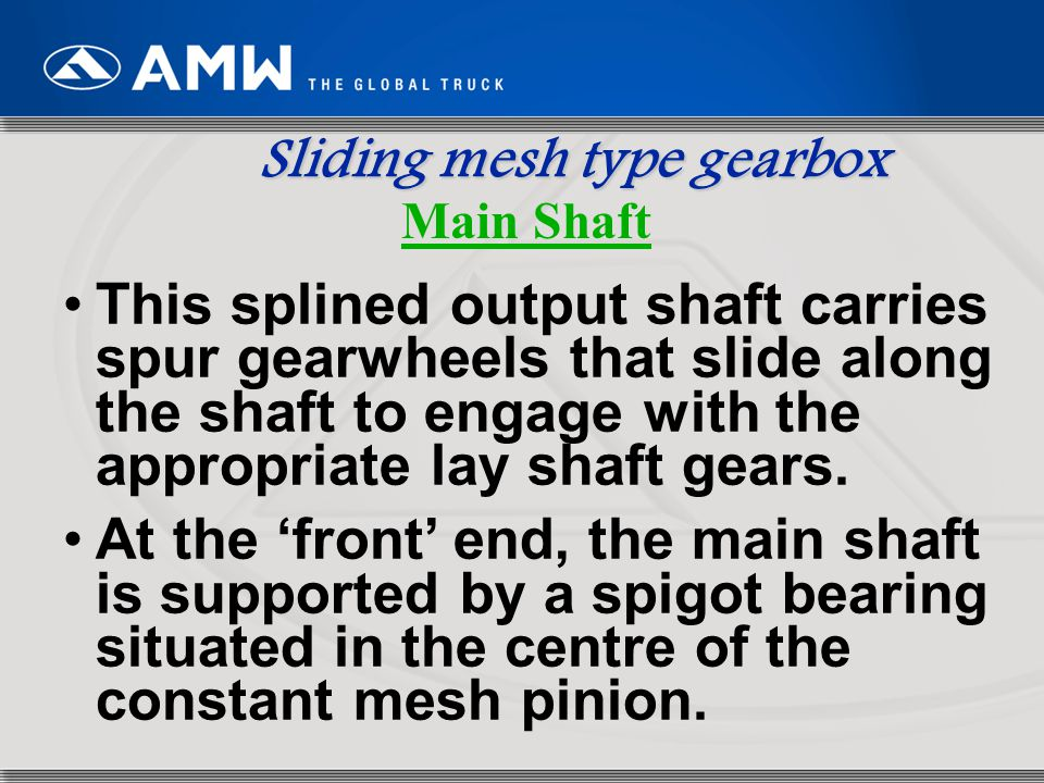 Automobile Gearbox BY: GAURANG PRAJAPATI  - ppt video online download