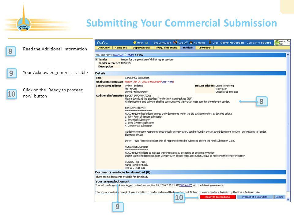ProCon Bidder User Guide Supply Chain Management Division - ppt