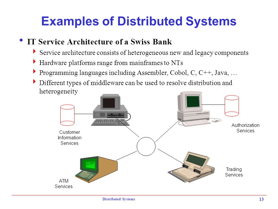 Distributed Systems Topics What is a Distributed System