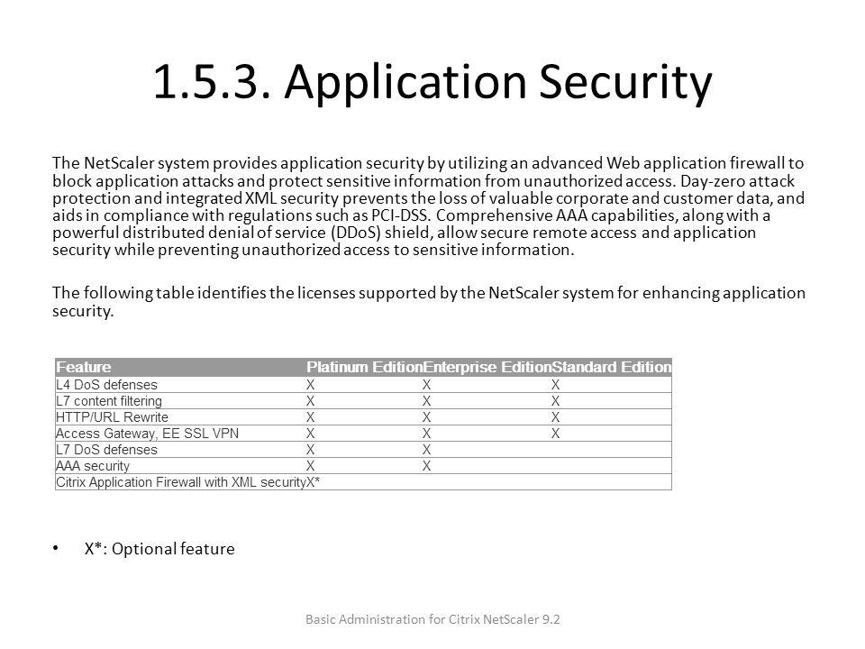Netscaler admin url