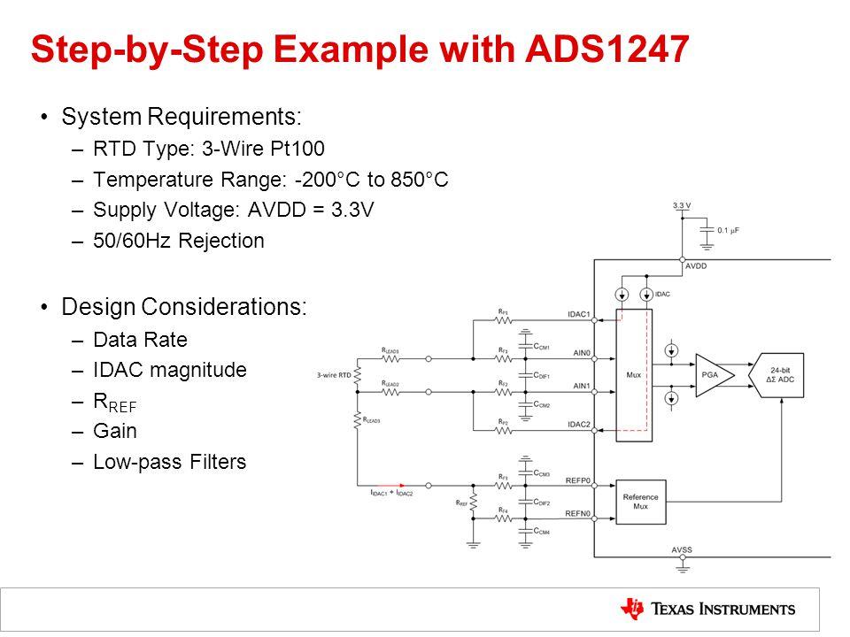 RTD Measurement Step-by-step Design Procedure - ppt video