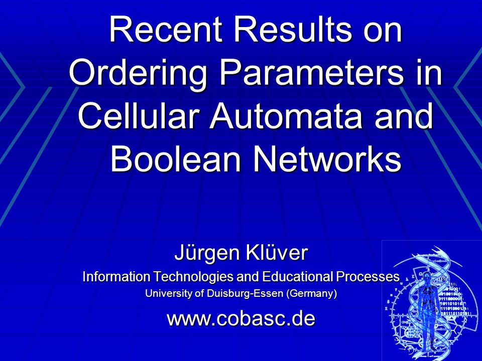 Recent Results on Ordering Parameters in Cellular Automata and Boolean Networks