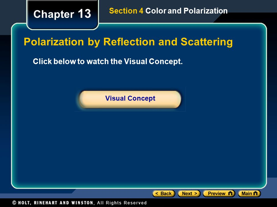 Polarization by Reflection and Scattering