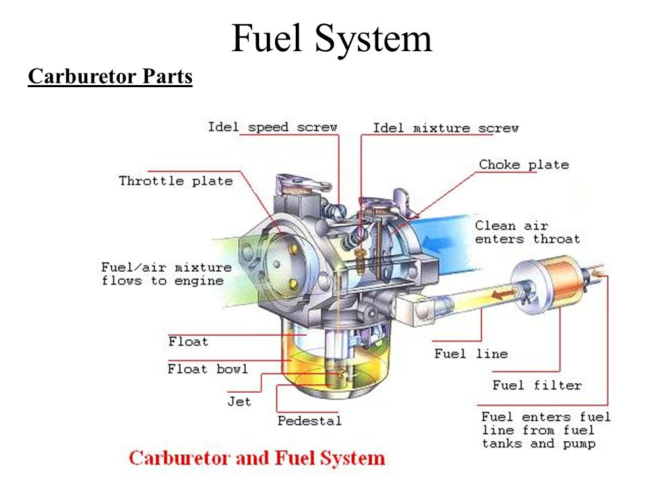 Fuel System Carburetor Parts