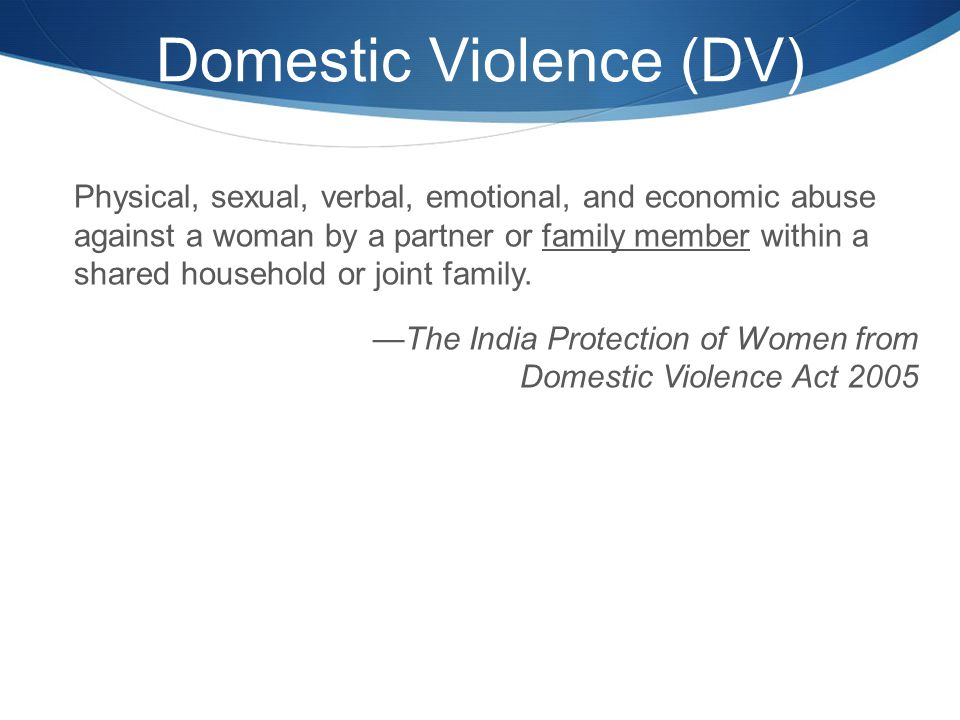 domestic violence outline for a research paper Reading this sample research paper on domestic violence or domestic violence research paper example you can order 100% original custom research papers, essays and term papers on violence topics online.