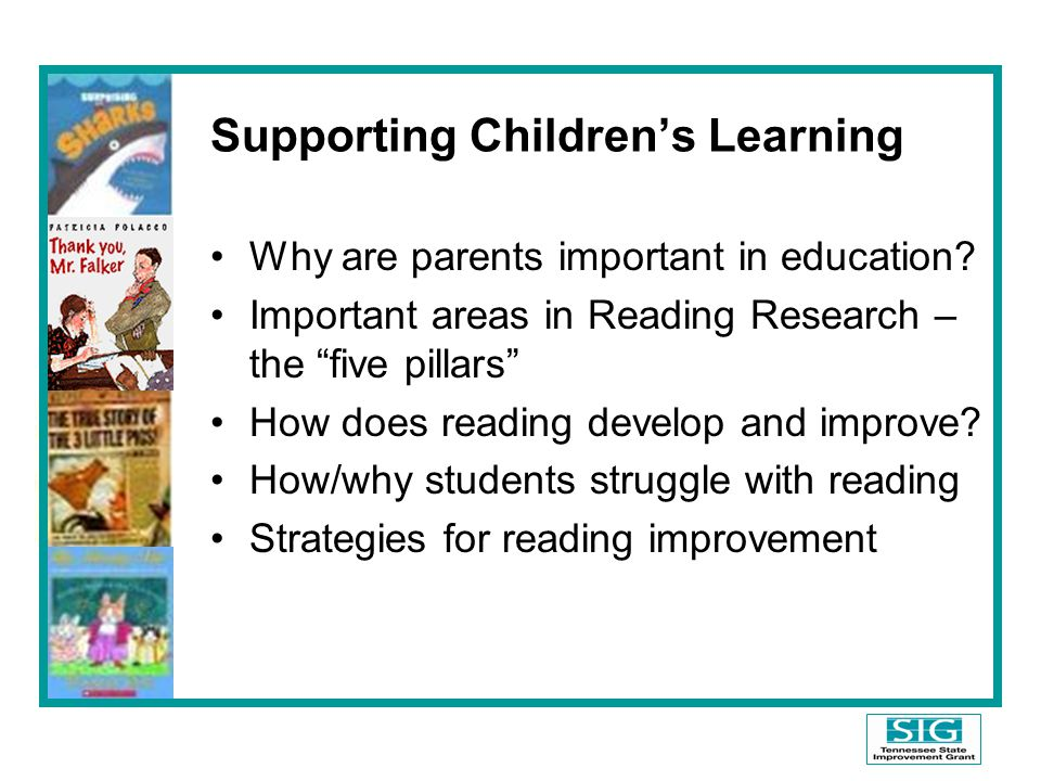 Supporting Children's Learning