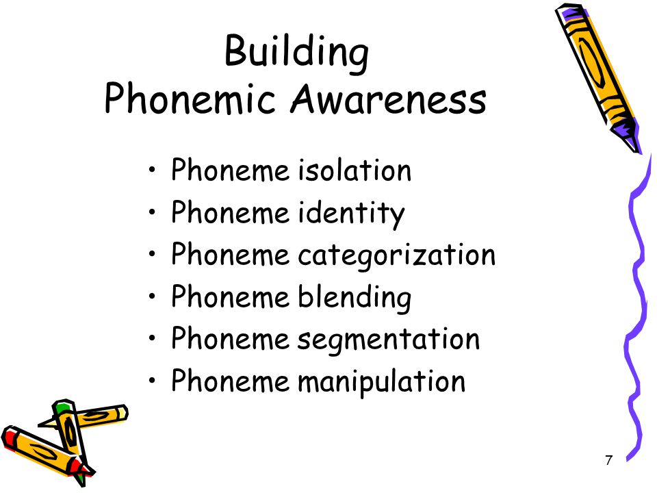 Building Phonemic Awareness