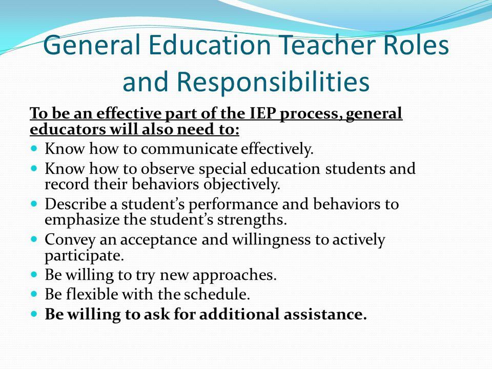 the teacher's roles responsibilities and boundaries What your role, responsibilities and boundaries would be as a teacher or trainer in terms of the teaching and learning cycle how might equality, diversity and inclusion impact on a learner's experience give examples from your own experience and research to support your assertions.