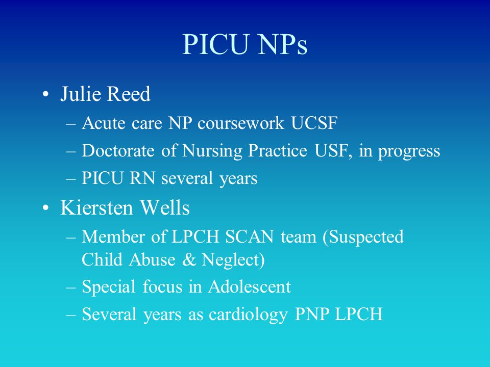 WELCOME TO THE PICU  - ppt video online download