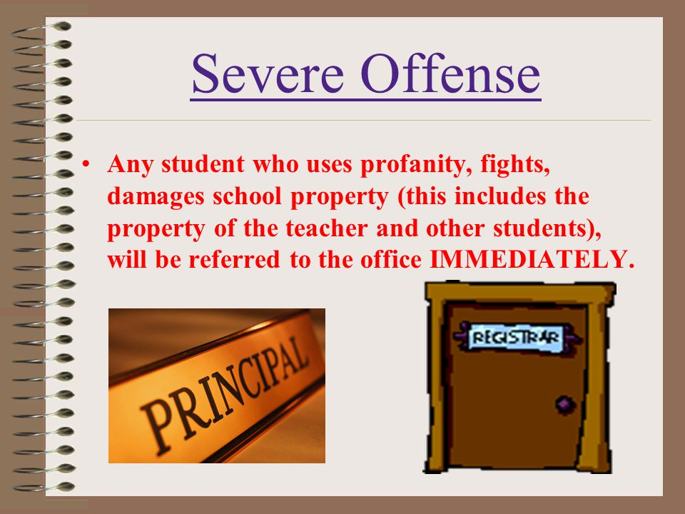 Severe Offense