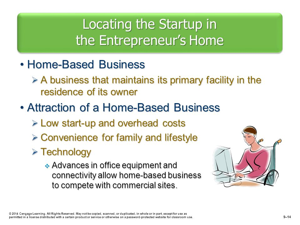 Locating The Startup In Entrepreneur S Home
