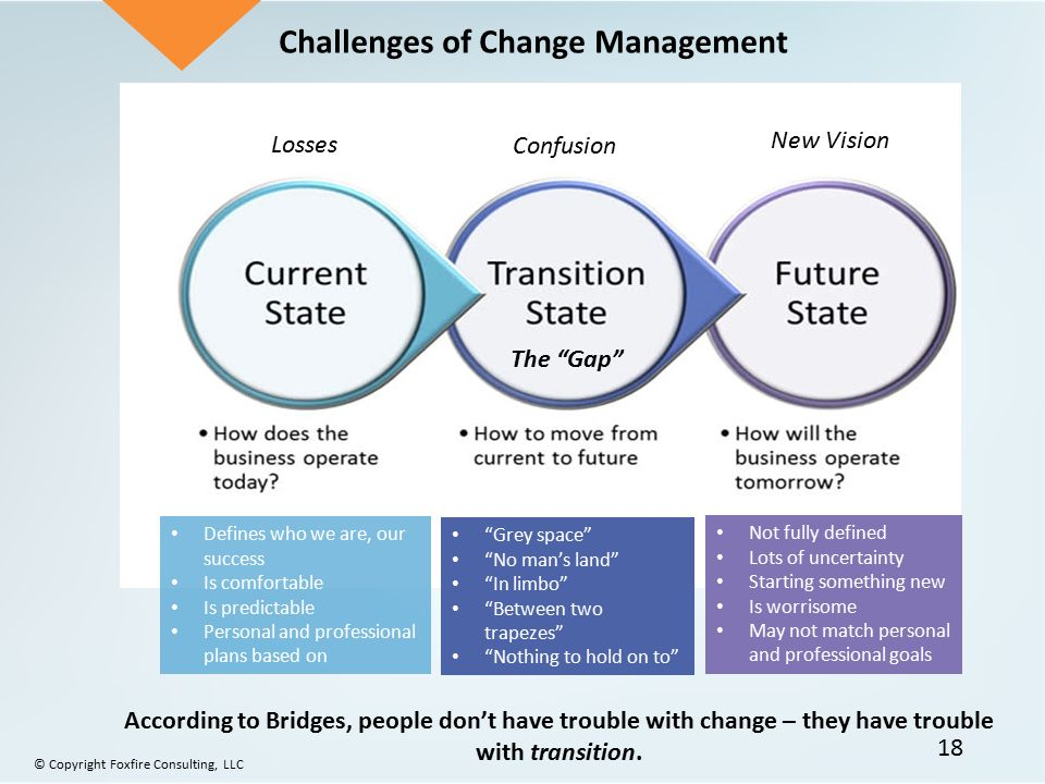 Challenges of Organizational Change