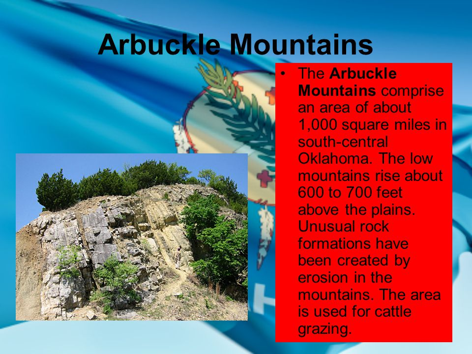 Oklahomas geographical regions ppt video online download arbuckle mountains 17 oklahomas ten geographical regions publicscrutiny