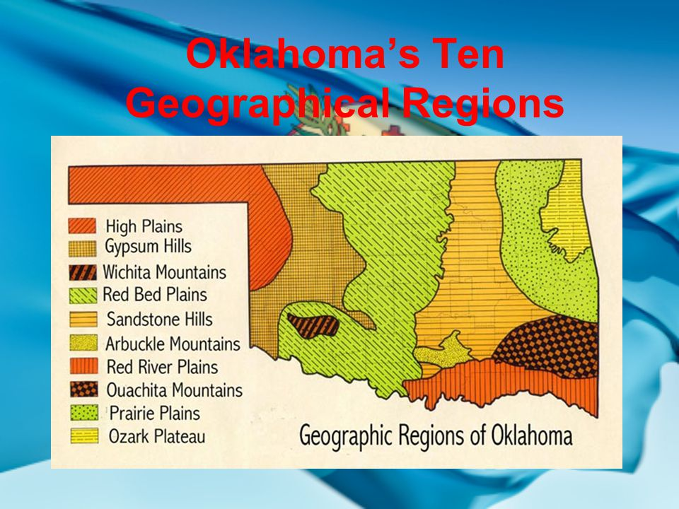 Mountains In Oklahoma Map.Oklahoma S Geographical Regions Ppt Video Online Download