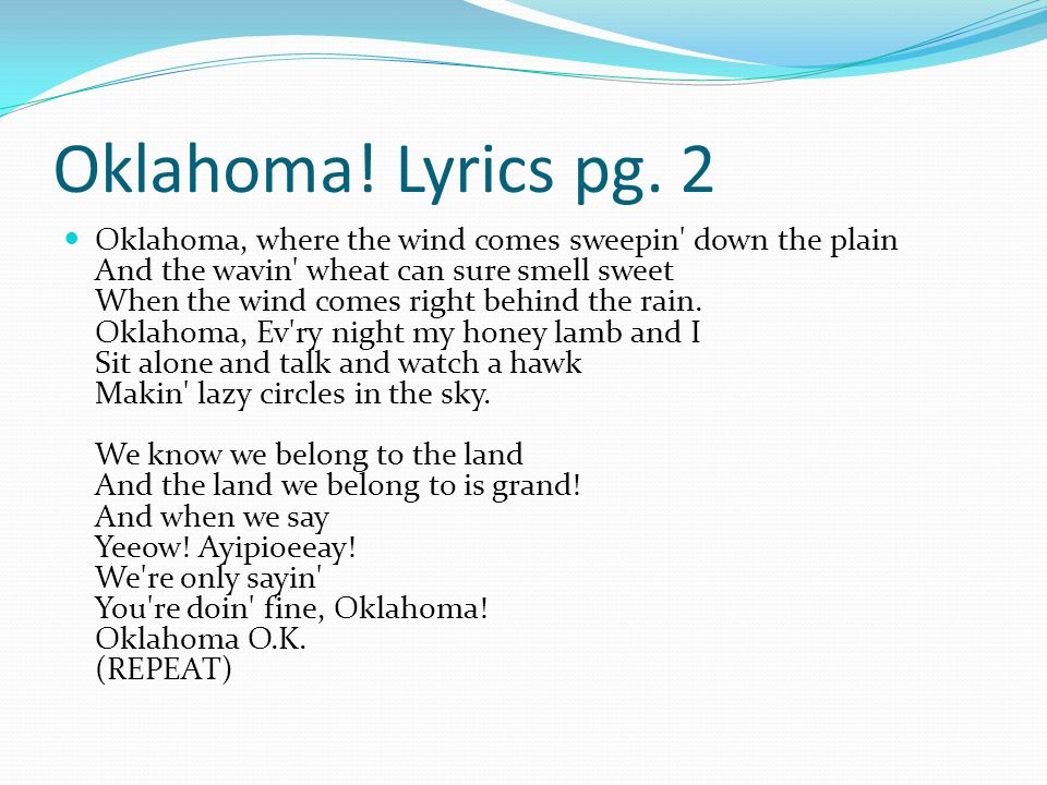 Intro to Musical Theatre - ppt video online download