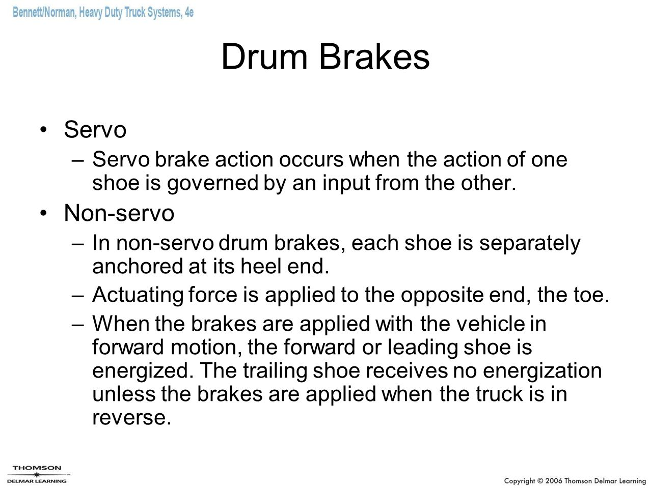 Hydraulic Brakes And Air Over Brake Systems Ppt Video All Info About Auto Repair Disc Mechanical Force Diagram Drum Servo Non