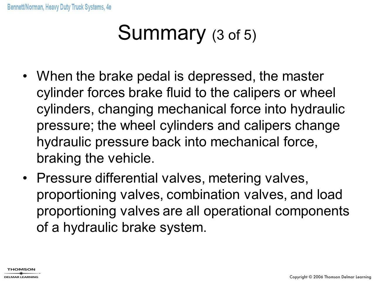 Hydraulic Brakes And Air Over Brake Systems Ppt Video All Info About Auto Repair Disc Mechanical Force Diagram 38 Summary