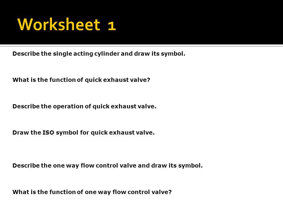 Module 6 Flow Control Valves Ppt Video Online Download