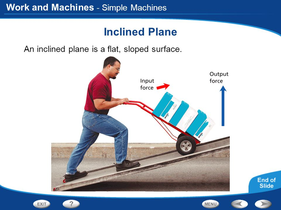 Inclined Plane - Simple Machines