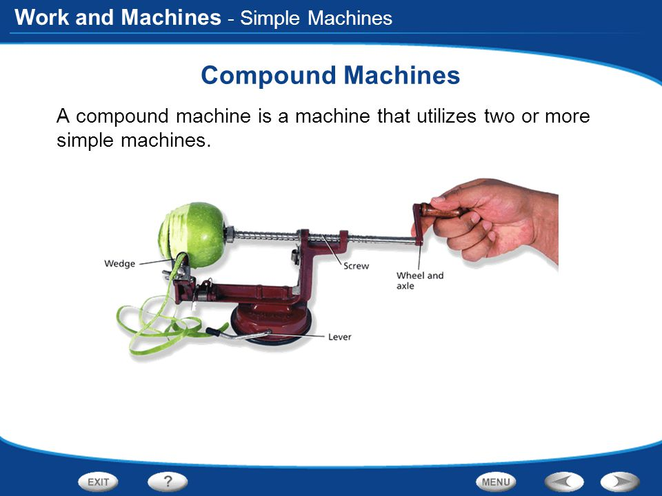 Compound Machines - Simple Machines