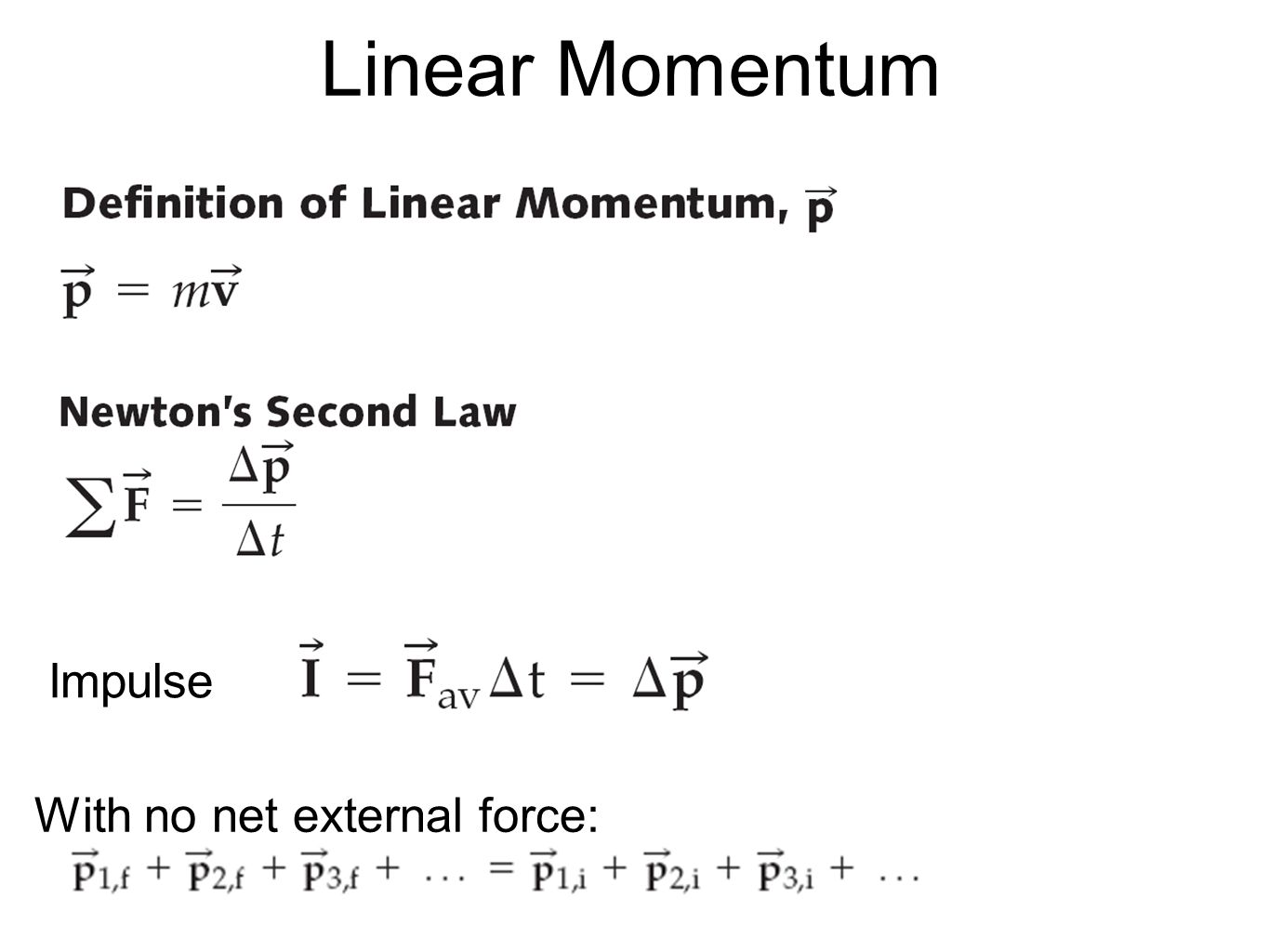momentum formula and examples - HD 1365×1024