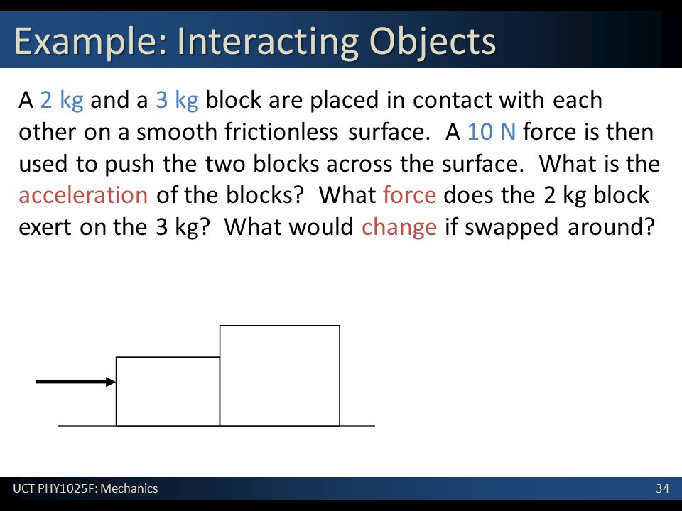 Example: Interacting Objects