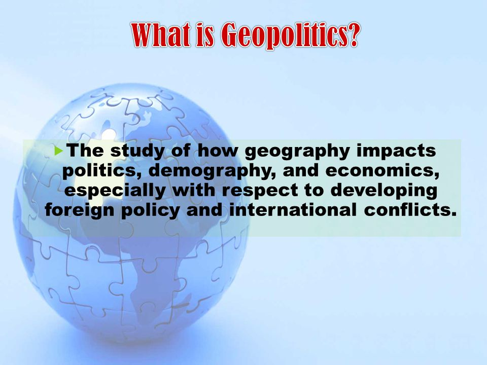 What is Geopolitics