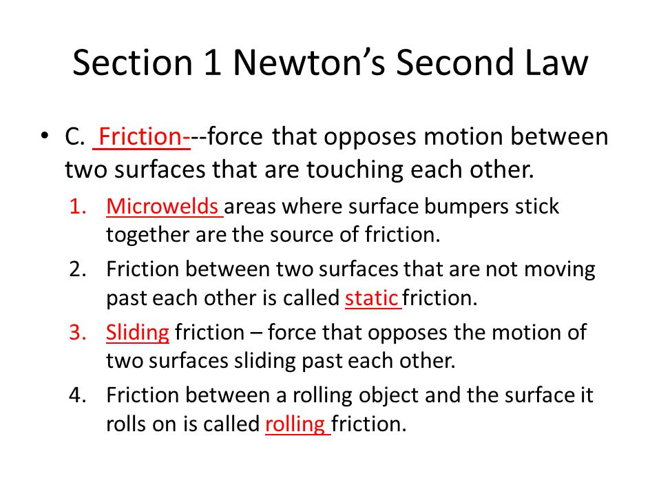 Note Taking Worksheet Forces - ppt video online download