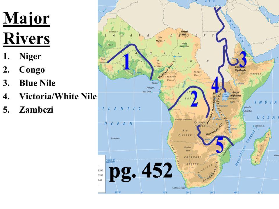 Major Rivers Africa Map.Major Rivers Of Africa Map Jackenjuul