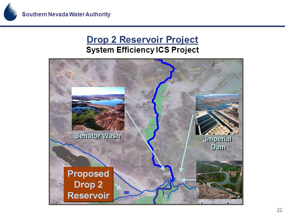 Drop 2 Reservoir Project System Efficiency ICS Project