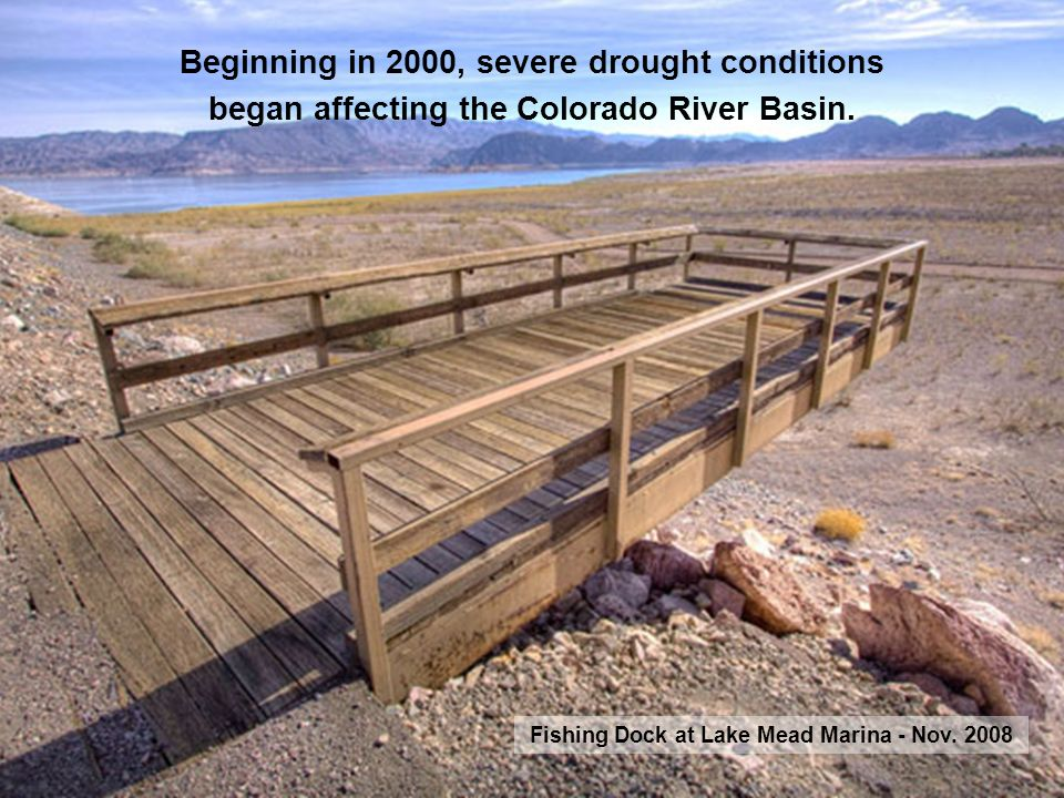Beginning in 2000, severe drought conditions