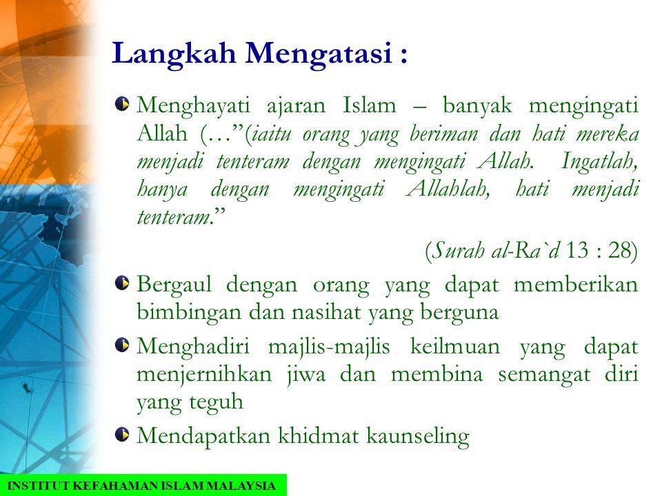 Menangani Krisis Menurut Petunjuk Al Qur An Ppt Download