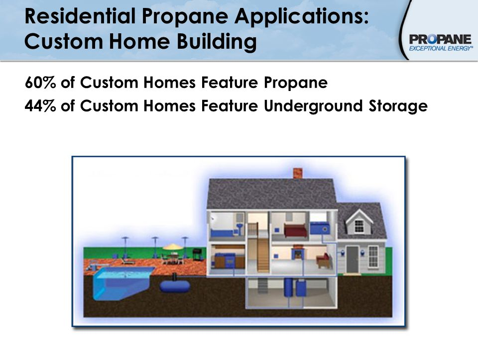 Residential Propane Applications: Custom Home Building