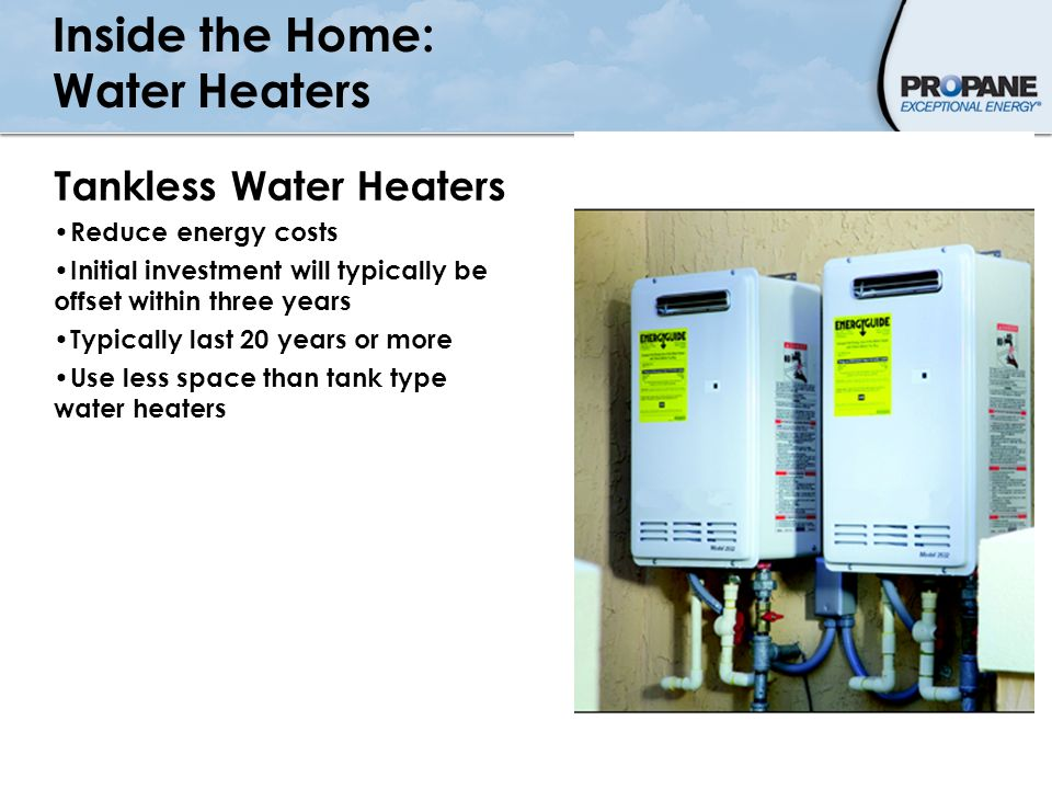 Inside the Home: Water Heaters