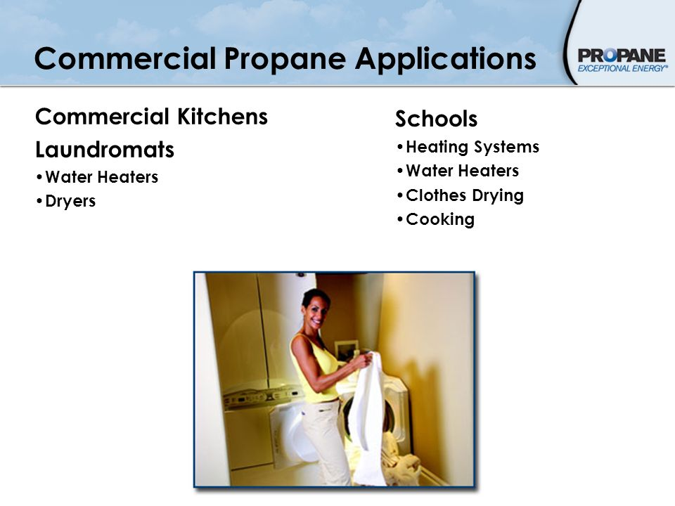 Commercial Propane Applications