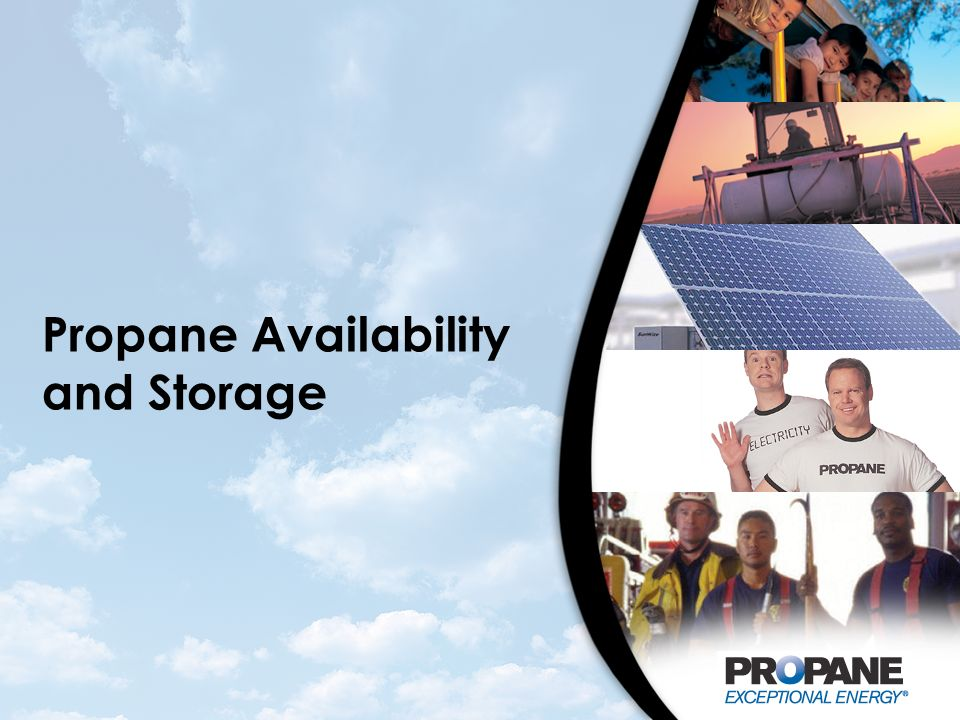 Propane Availability and Storage