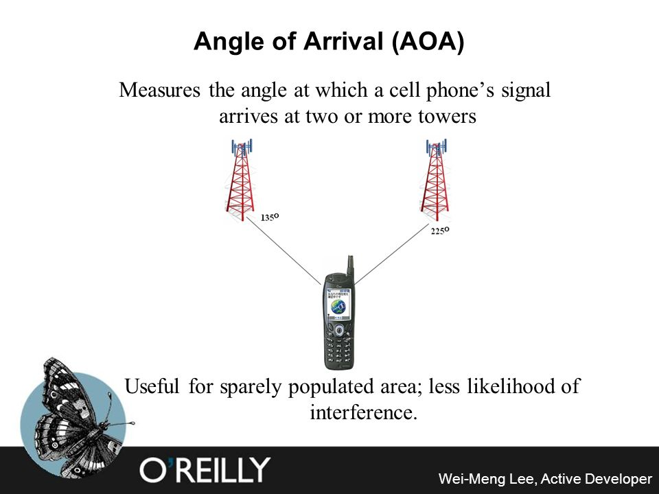 Useful for sparely populated area; less likelihood of interference.