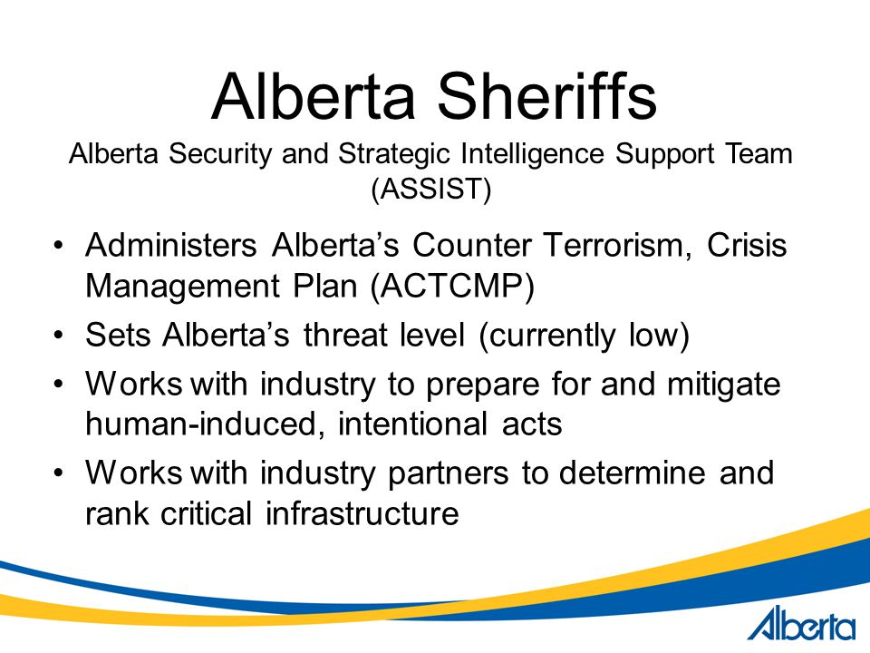 Alberta Security and Strategic Intelligence Support Team (ASSIST)