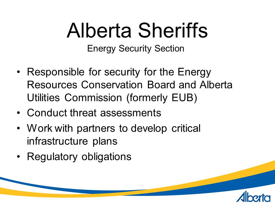 Energy Security Section
