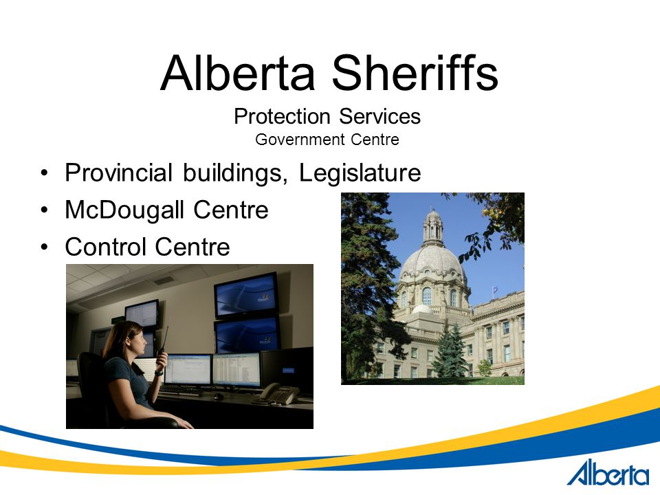 Protection Services Government Centre