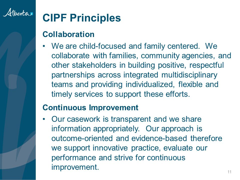 CIPF Principles Collaboration