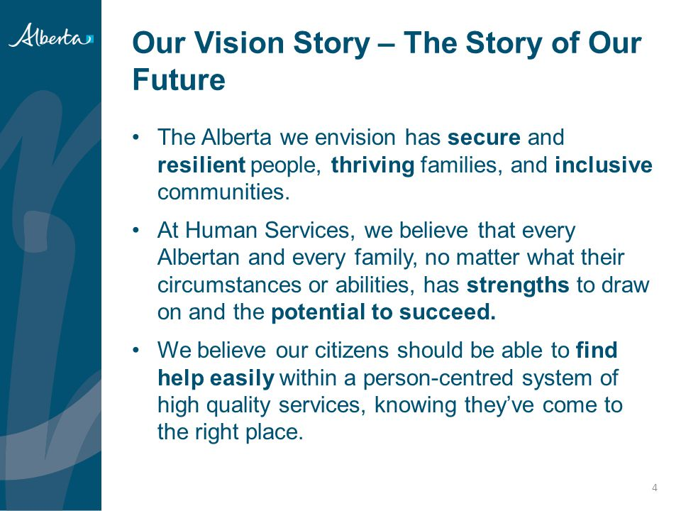 Our Vision Story – The Story of Our Future
