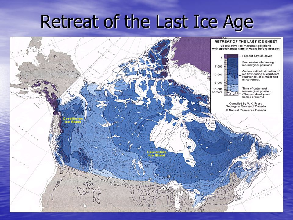 Retreat of the Last Ice Age