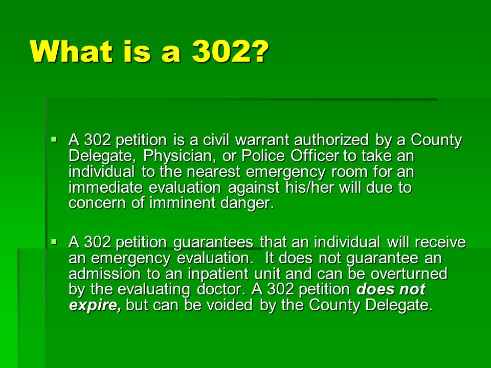 What is a 302