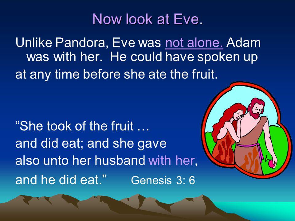 adam and eve pandora