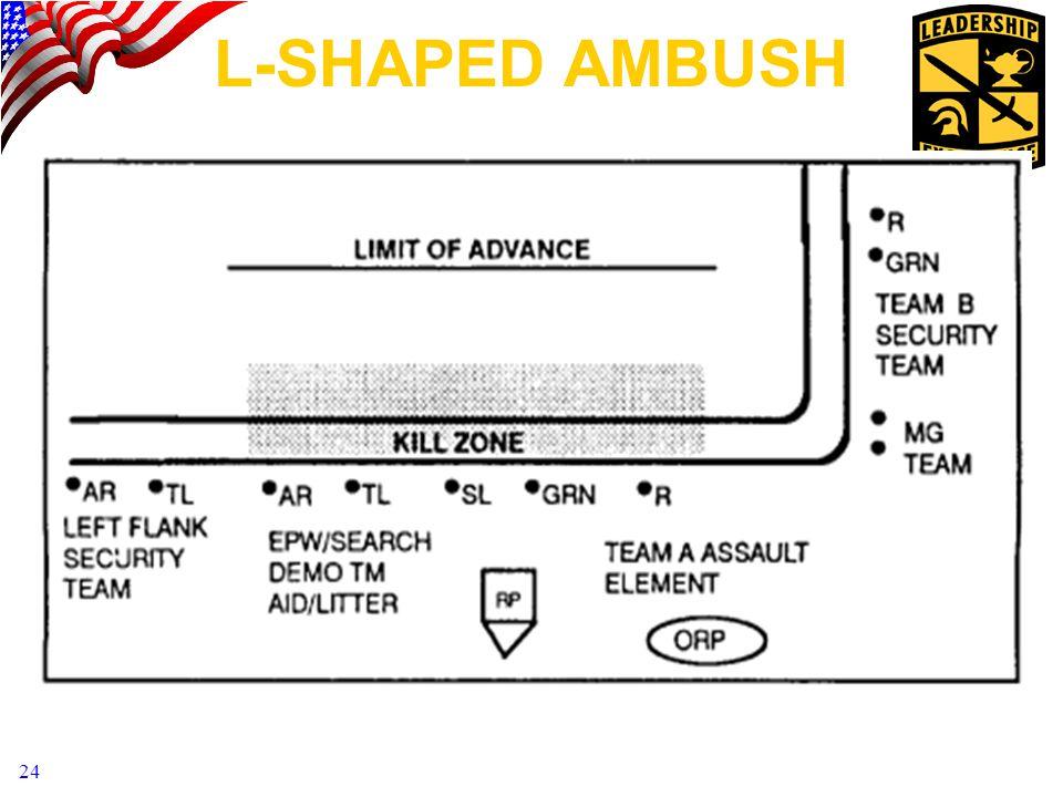 24 l-shaped ambush
