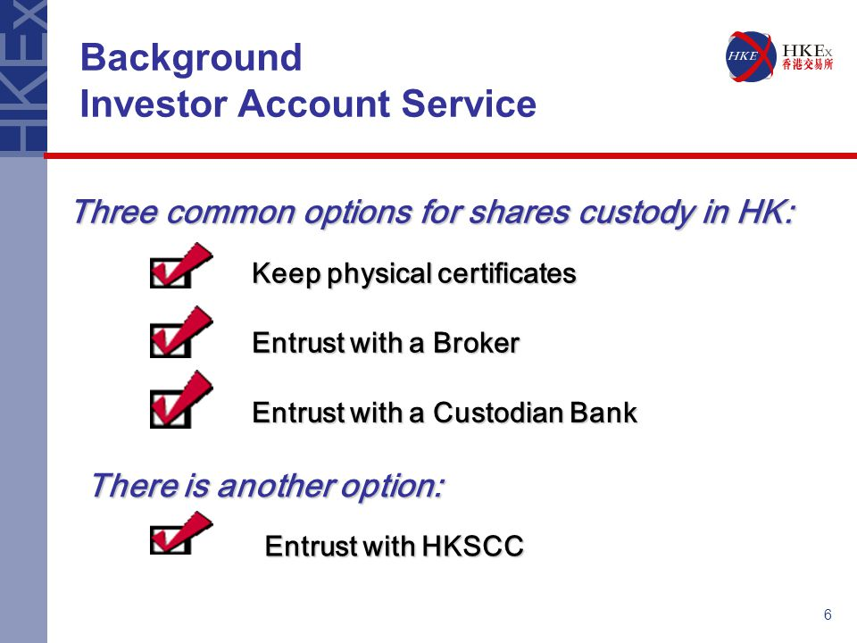INVESTOR ACCOUNT SERVICE IN CCASS - ppt download