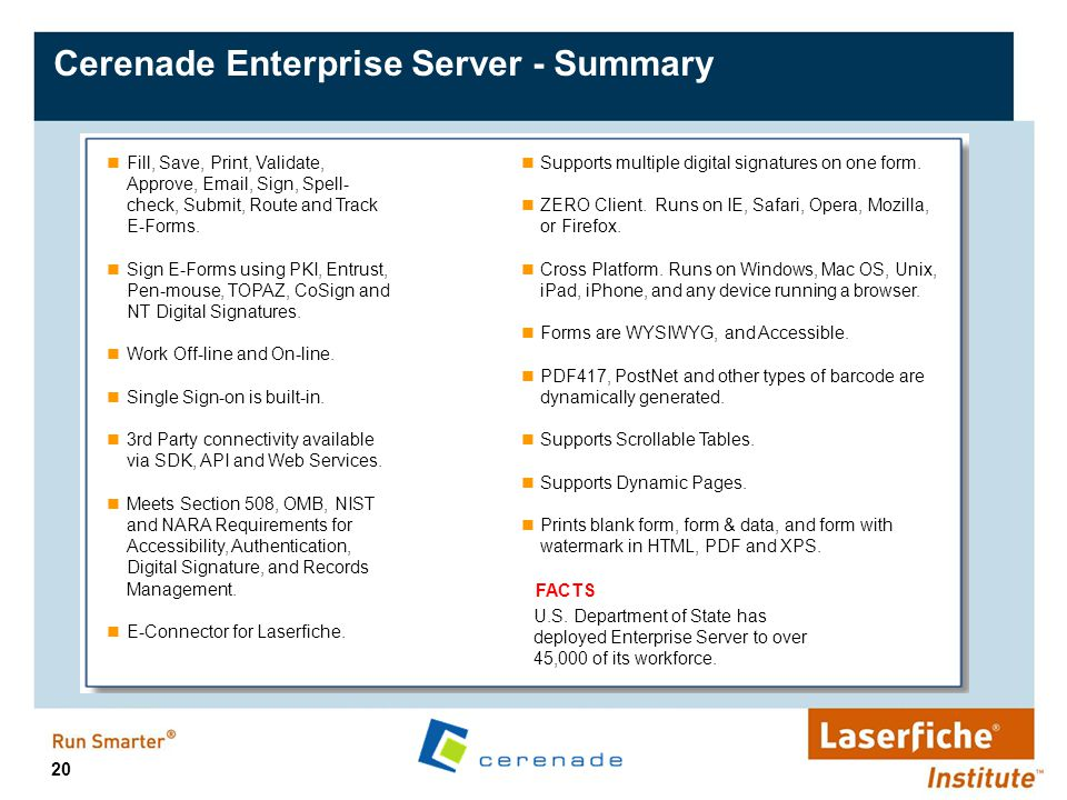 Cerenade Electronic Forms Solutions - ppt video online download