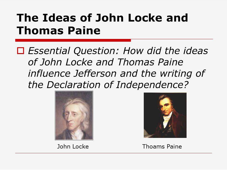 how did john locke influence the american revolution
