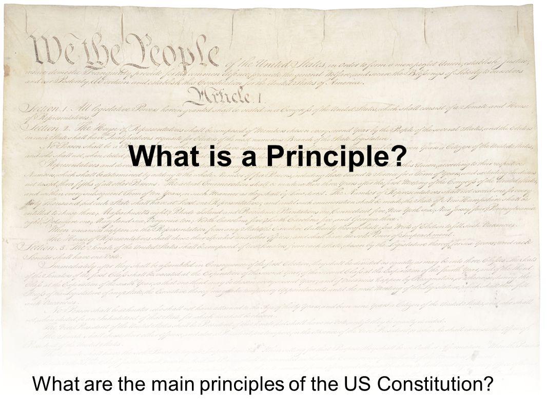 The main principles of life 95